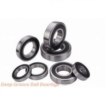 55 mm x 90 mm x 18 mm  NACHI 6011-2NKE deep groove ball bearings