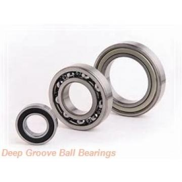 4 mm x 7 mm x 2 mm  FBJ MF74 deep groove ball bearings