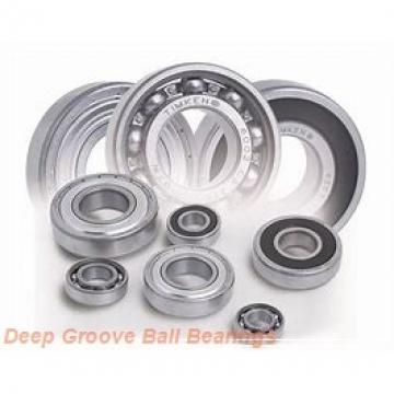 7 mm x 17 mm x 5 mm  ZEN SF697 deep groove ball bearings
