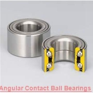 17 mm x 40 mm x 17.5 mm  NACHI 5203AZ angular contact ball bearings